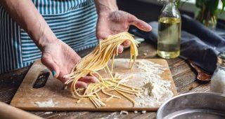 Domácí těstoviny, jejich výroba a lahodné recepty z nich